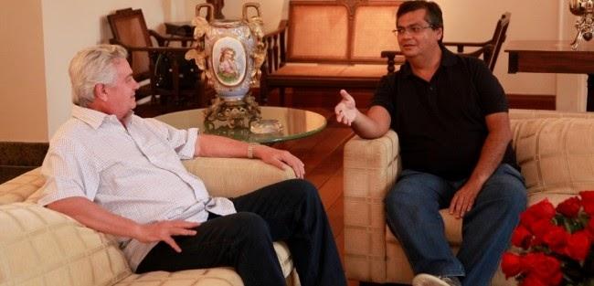 Flávio Dino quer deixar Arnaldo Melo de 'bico seco'