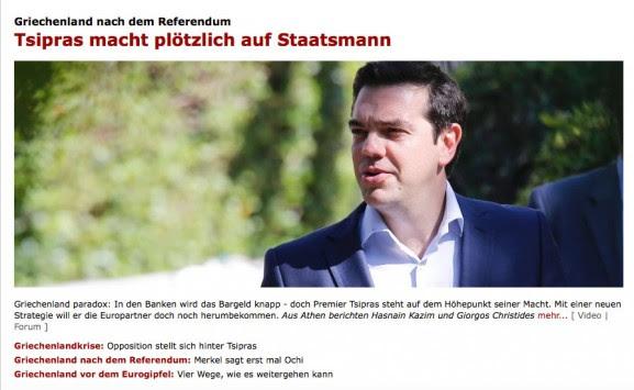 To Spiegel αποθεώνει τον Αλέξη Τσίπρα - Από πρωθυπουργός έγινε ηγέτης!