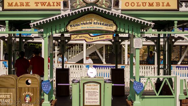 Disneyland Resort, Disneyland60, Disneyland, Frontierland, Theme, Flag