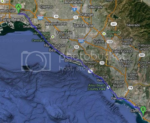 "San Clemente to San Pedro feb. 22  ""SGV UPDATED"""