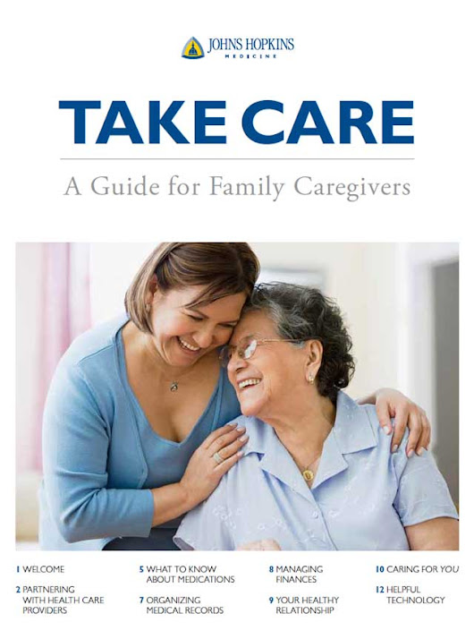 Take Care A Guide for Family Caregivers
