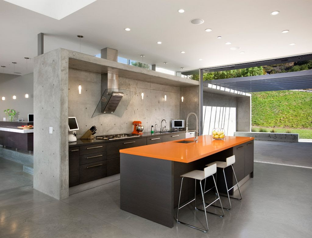 11 Amazing Concrete Kitchen Design Ideas - Decoholic