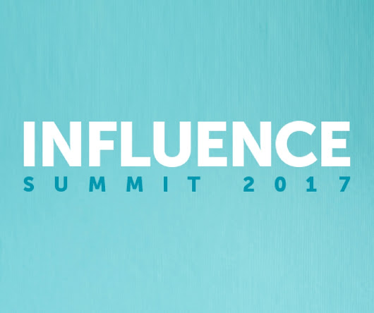 Influence Summit | September 25-28, 2017