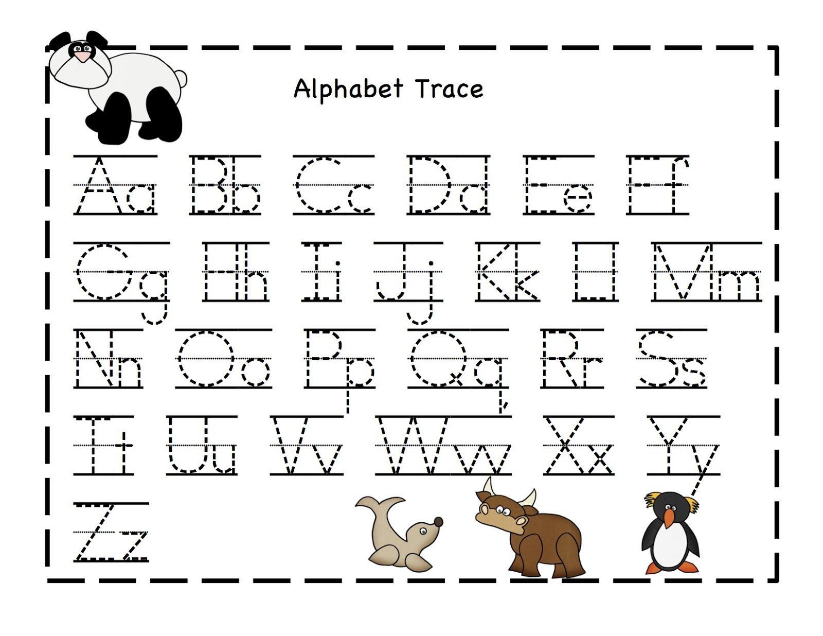 Printable Alphabet Sheets - Scalien
