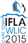IFLA WLIC 2015, Cape Town, South Africa