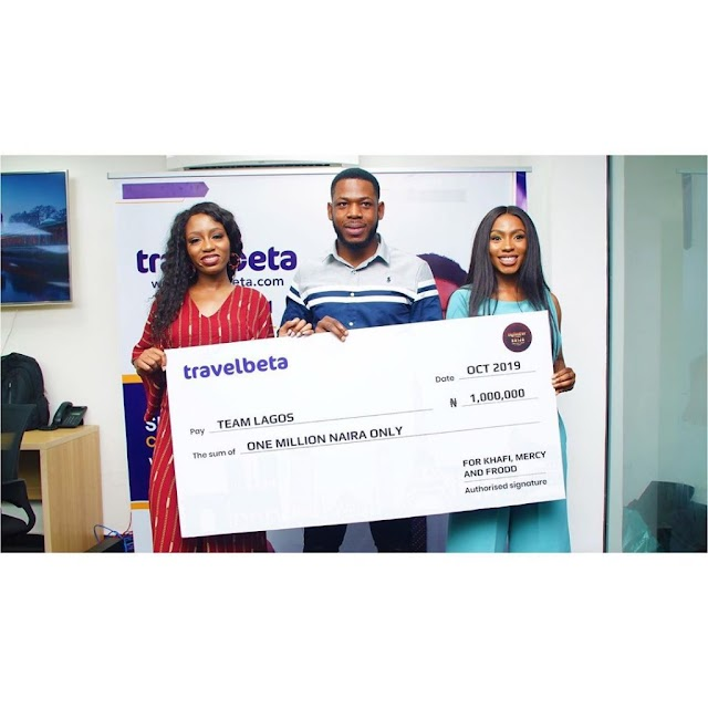 BBNaija's Mercy Wins A Trip To Dubai With Ike, As She And Her Team Get N1M