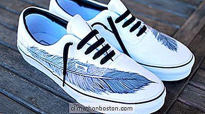 Tavsiye Sanatçı Başarı Boyama özel Ayakkabı Tasarımları Bulur
