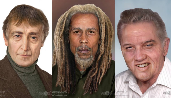 aged rock stars