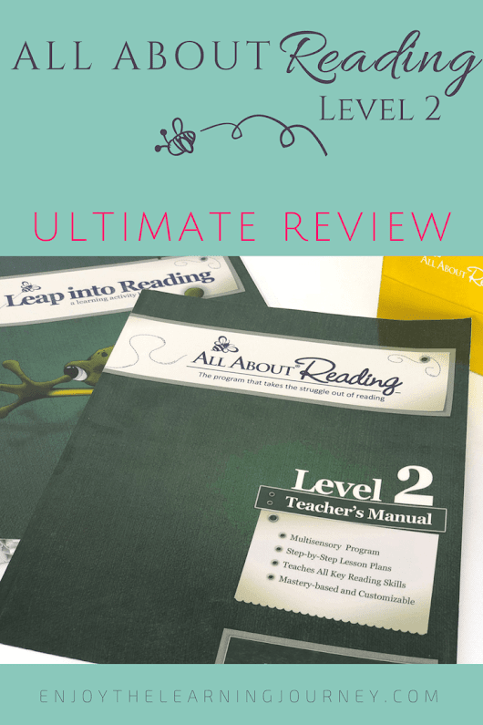 All About Reading Level 2 ~ Ultimate Review - Enjoy the Learning Journey