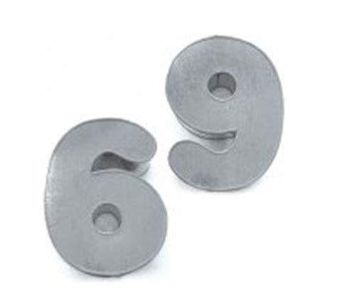 Number or numeral shaped cake pans