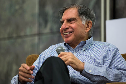 Ratan Tata, Unbridled at 78, Meets His Young Self in Startups