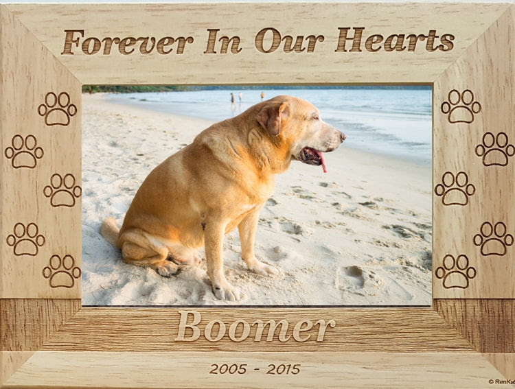 Personalized Dog Memorial Picture Frame Renkatacom