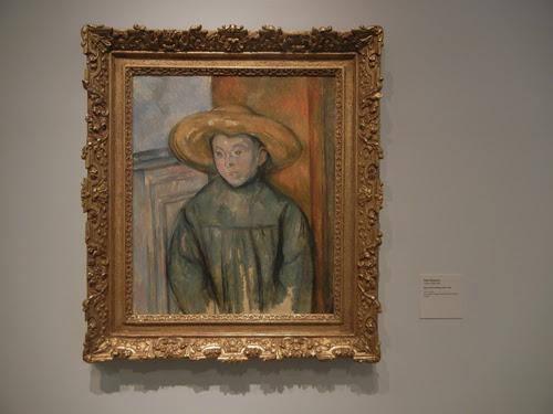 DSCN7953 _ Boy With a Straw Hat, 1896, Paul Cézanne (1839-1906), LACMA