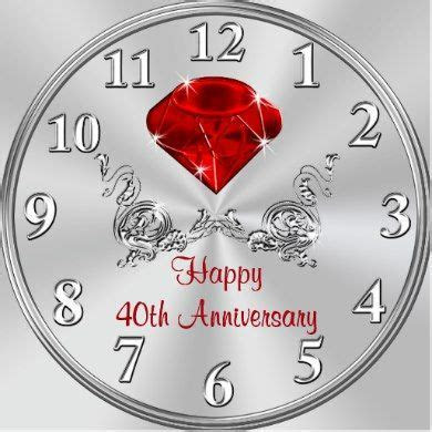25  unique Ruby wedding anniversary gifts ideas on