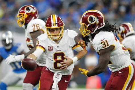NFL Player Kirk Cousins Wears His Silicone Ring During Games