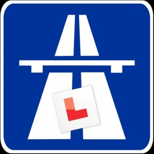 Learner drivers on the motorways