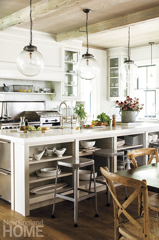 Farmhouse Kitchen - New England Home Magazine