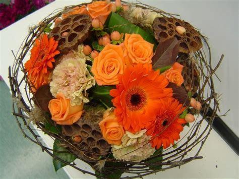 25  best ideas about Orange wedding bouquets on Pinterest