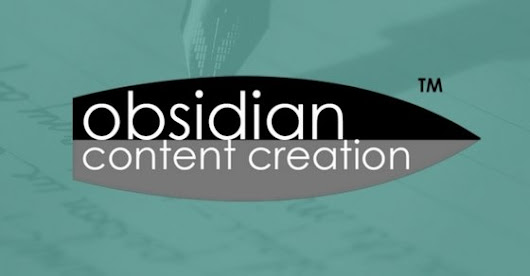 Subscribe to the Obsidian Content Creation Mailing List