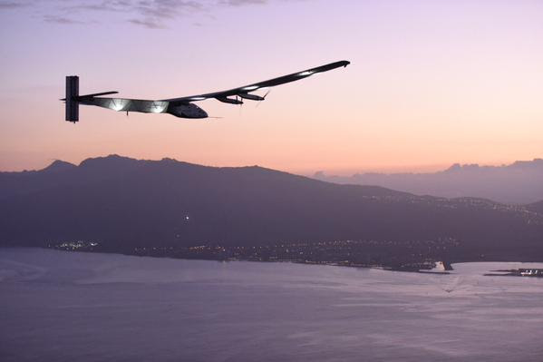 Solar Impulse chegou no Hawaii (4)