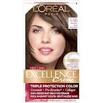 L'Oreal Paris Excellence Triple Protection Permanent Hair Color - 6.3 fl oz - 5AB Mocha Ash Brown - 1 Kit