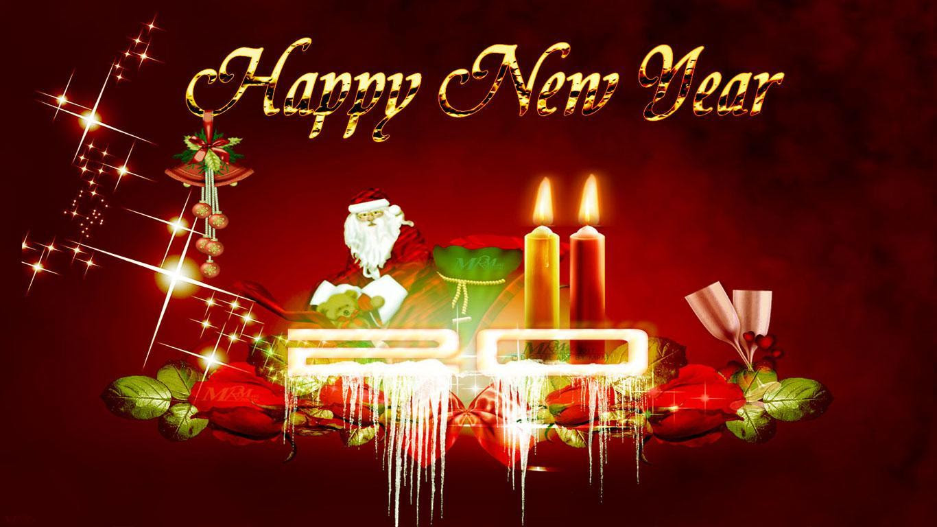 Happy New Year Wallpaper Sf Wallpaper