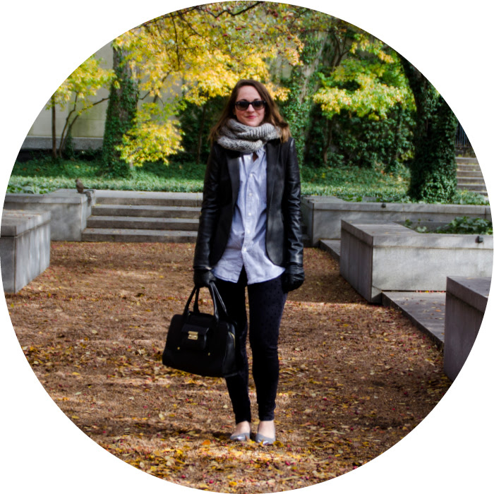 november outfit, how to wear a men's buttondown, fall layers, gigi pants