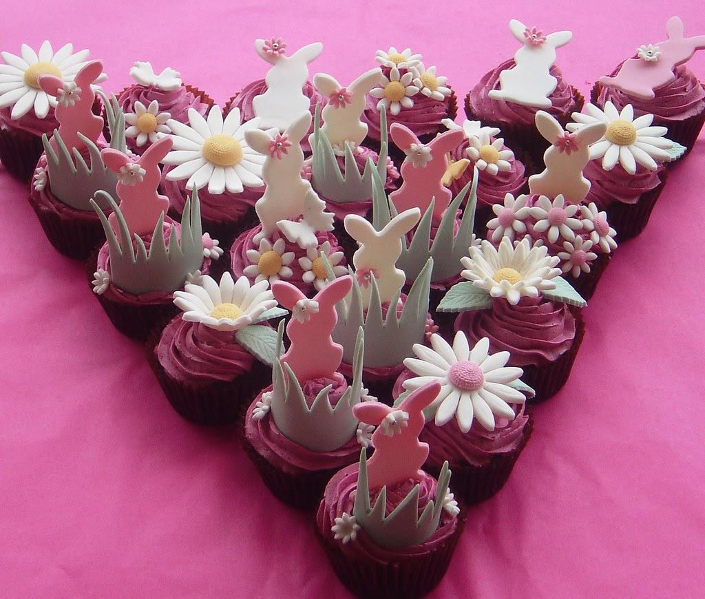Easter Cupcake Meadow