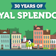 30th Anniversary of Our Royal Splendour Towel Collection