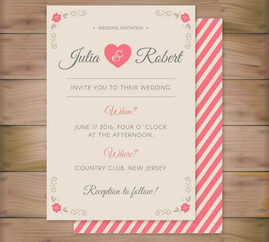 Free Elegant Wedding Invitations - Save Time and Money