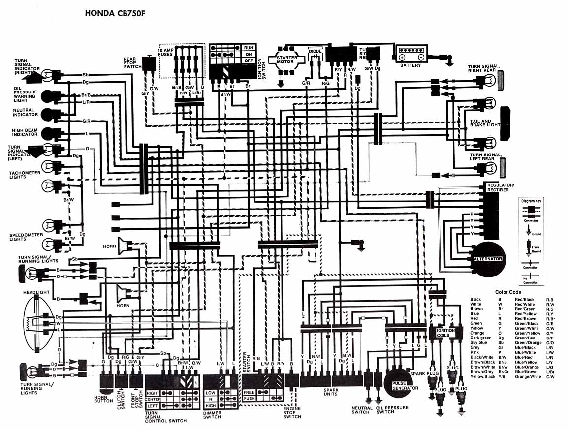 2e87ea 1986 Honda Gl1200 Goldwing Wiring Diagram Schematic Wiring Resources