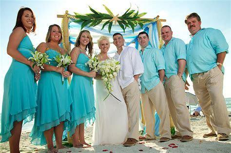 Aqua & carribean blue beach wedding   Sand Petal Weddings