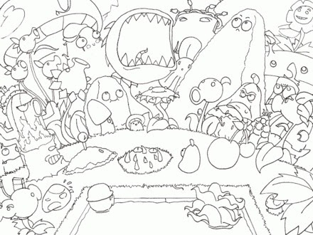 32 Plants Vs Zombies Coloring Book - Free Printable Coloring Pages