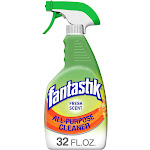Fantastik All-Purpose Cleaner, Fresh Scent, 32 Ounce Bleach-Free Removes Grease - 32 fl oz