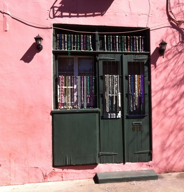 French Quarter door
