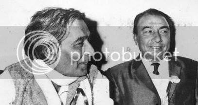 Jaan Nisar Akhtar with Sahir Ludhianvi