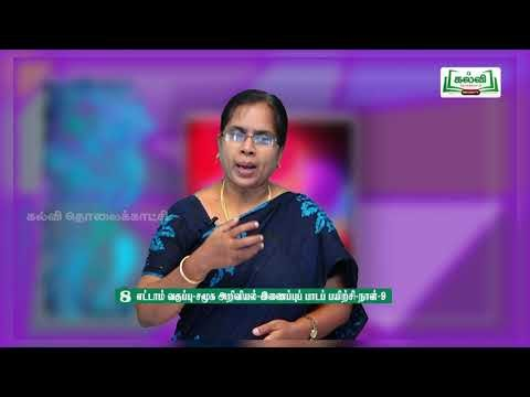8th Social Science Bridge Course உற்பத்தி நாள் 9, 10 Kalvi TV