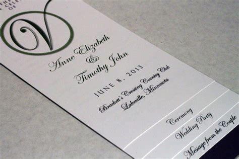 DIY 4   PAGE   Layered Wedding Program Template   Circle