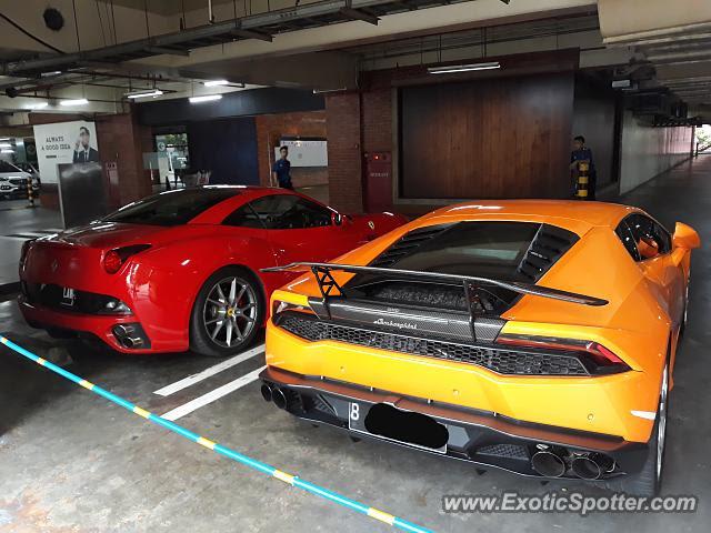 Ferrari California spotted in Jakarta, Indonesia on 12/23 ...