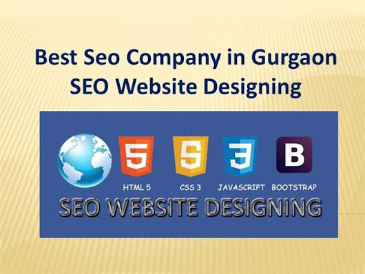 Best Seo Company in Gurgaon - SEO Website Designing