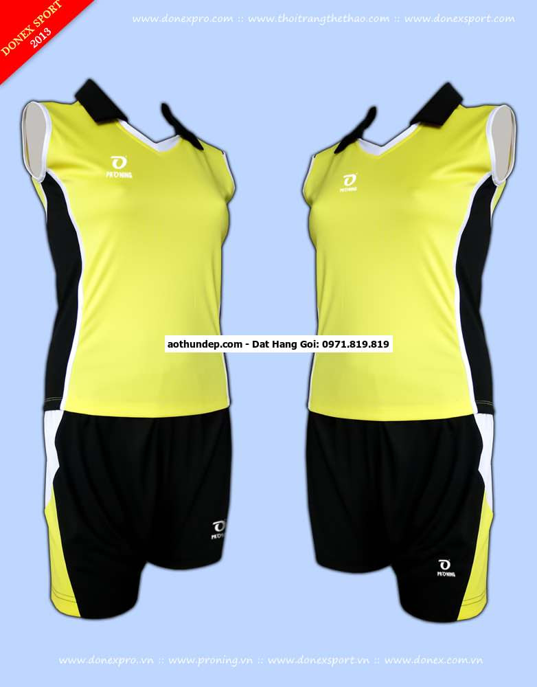 quần áo bóng chuyền donex