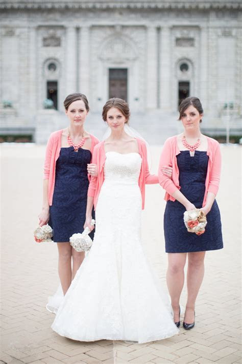 Darkest Blues & Shades Of Pink   Wedding Inspiration