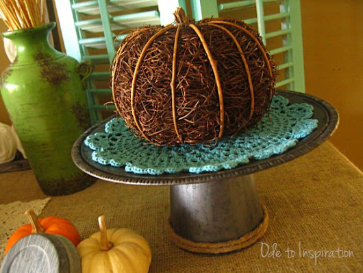 Dollar Store Crafts  » Blog Archive   » Make a Faux Galvanized Cake Stand