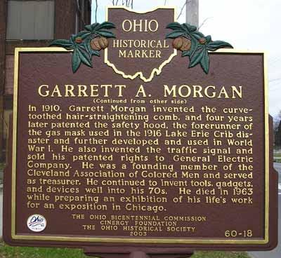 Garrett Morgan Historical Marker