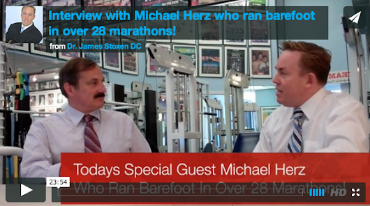Interview With Michael Herz Who Ran Barefoot In Over 28 Marathons!