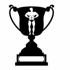優勝カップシルエット イラストの無料ダウンロードサイトシルエットac