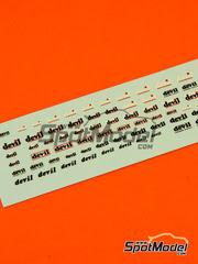 Virages: Calcas escala 1/12 - Devil logos