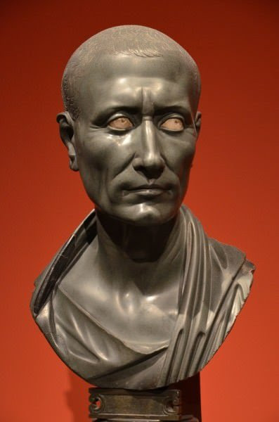 Posthumous bust of Caesar