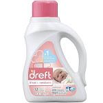 Dreft Stage 1: Newborn Liquid Laundry Detergent 50 oz by Pharmapacks