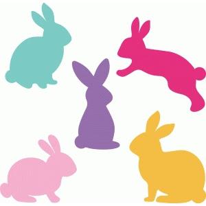 LW Easter Bunny Set ID #76573